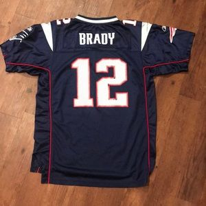 sports shoes 81a6f 4565d Youth Tom Brady Patriots Jersey